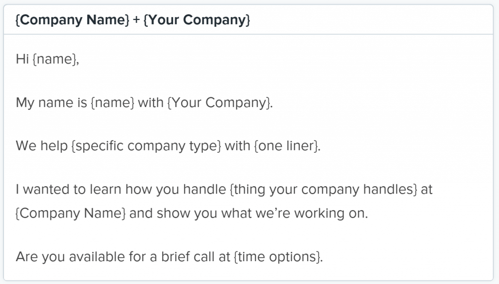 cold email mistakes