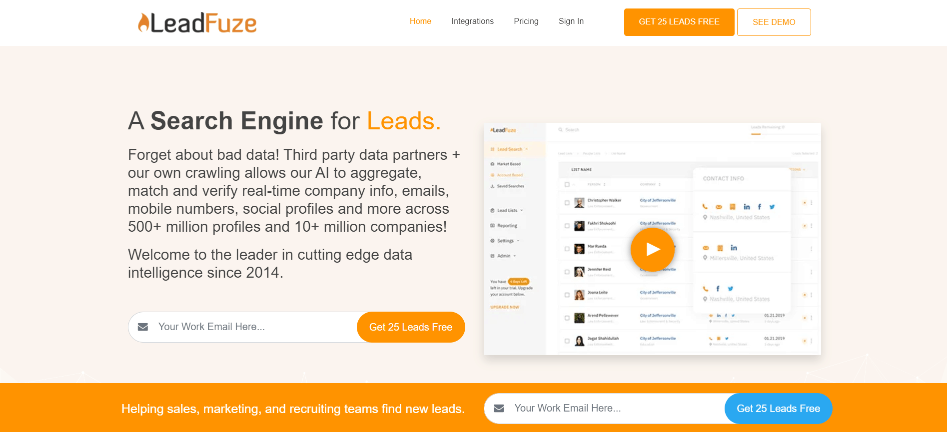 how to curate content with LeadFuze