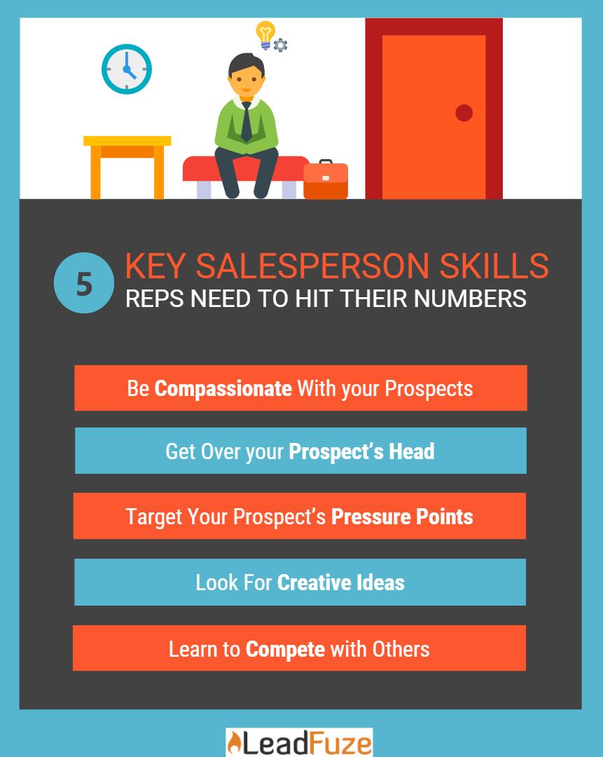 salesperson skills