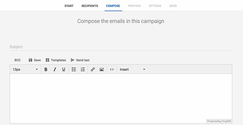 Automated Email Compose Emails