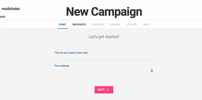 Automated Email New Campaign