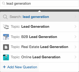 Lead Generation Term