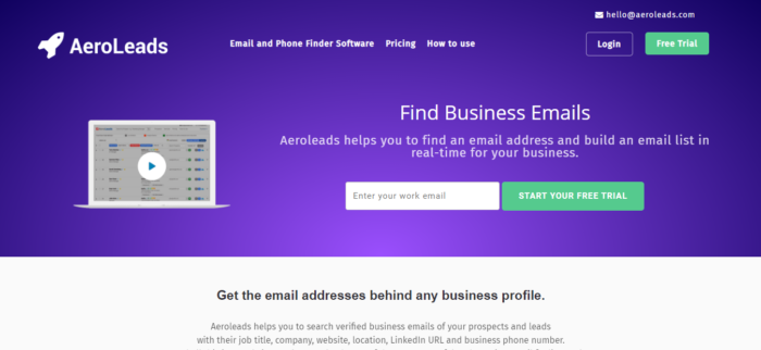 lead generation email address finder