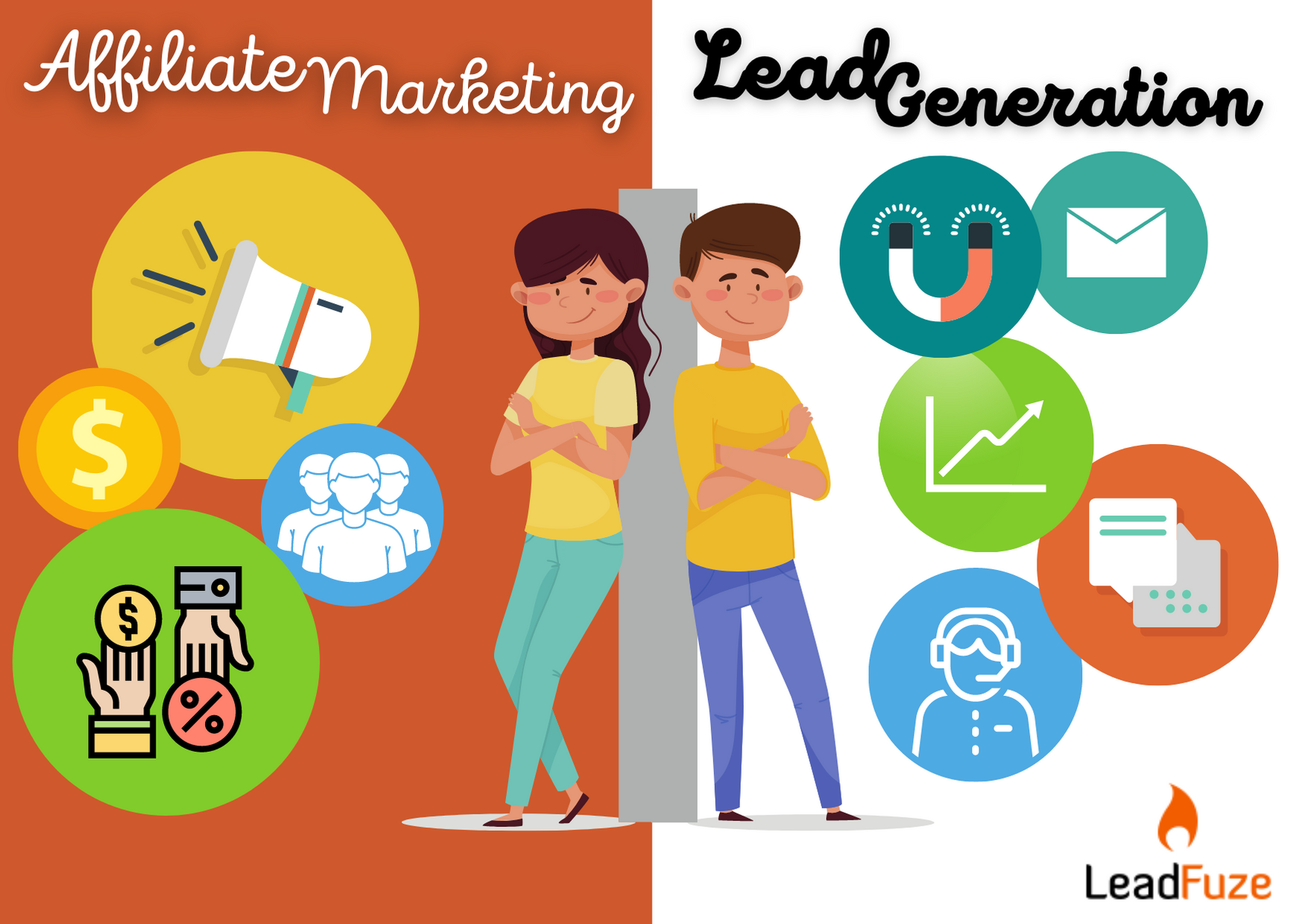 affiliate marketing vs lead generation
