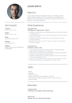 lead generation resume