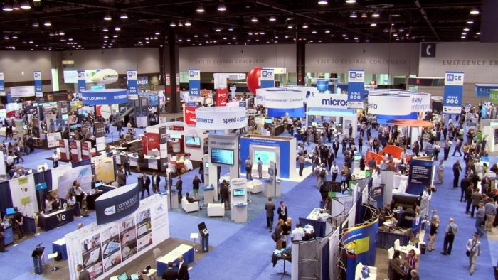 Trade shows for outbound lead generation