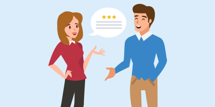 Word of mouth outbound lead generation