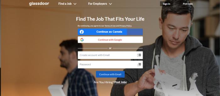 free job hiring site