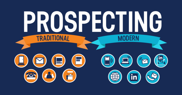 prospecting and outreach